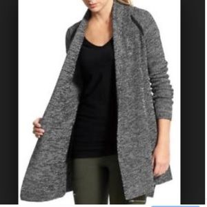 Athleta Horizon long cardigan duster sweater